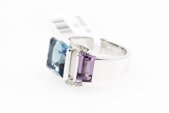 Piaget Piaget 18k white gold topaz amethyst diamonds ring Image 2