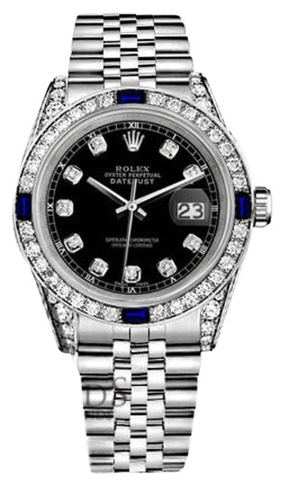 Preload https://img-static.tradesy.com/item/18515656/rolex-ladies-datejust-26mm-black-dial-sapphire-and-diamond-a-track-watch-0-2-540-540.jpg