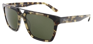 Salvatore Ferragamo Salvatore Ferragamo Antique Tortoise Square Sunglasses