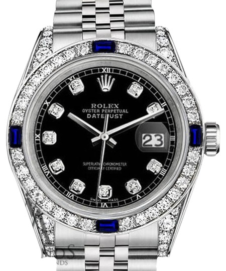 Preload https://img-static.tradesy.com/item/18515704/rolex-women-s-31mm-datejust-black-dial-sapphire-and-diamond-a-track-watch-0-1-540-540.jpg