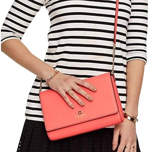 Kate Spade Coral Handbag Coral Charlotte Street Coral Cross Body Bag