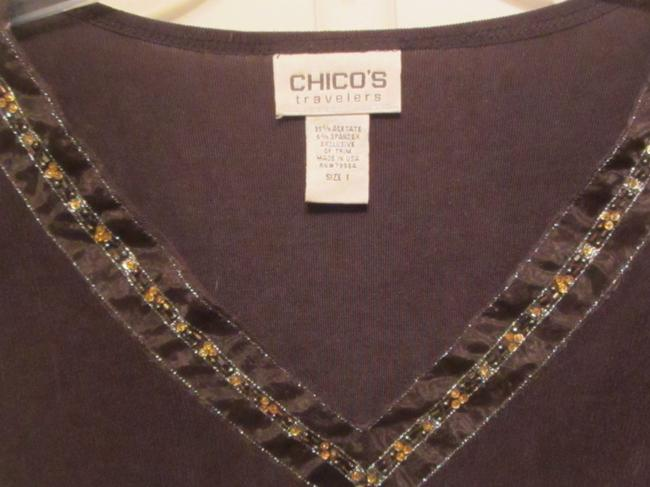 Chico's Top brown Image 1