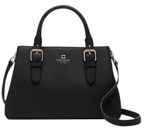 Kate Spade Cove Satchel in Black