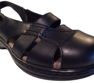Dansko Black Sandals