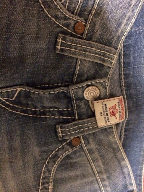 True Religion Boot Cut Jeans-Light Wash Image 3