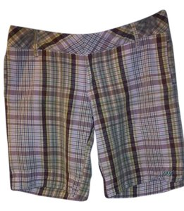 Lost Girl Board Shorts Plaid