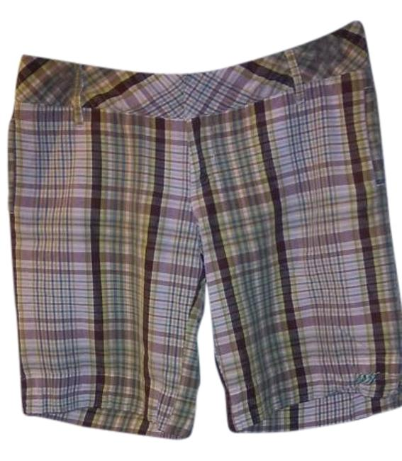 Lost Girl Board Shorts Plaid Image 0