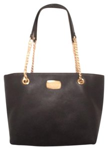 Michael Kors Leather Large New (nwt) Tote in Black