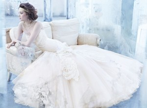 Lazaro 3363 Wedding Dress