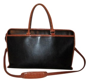 Briefcase Leather Vintage Laptop Bag