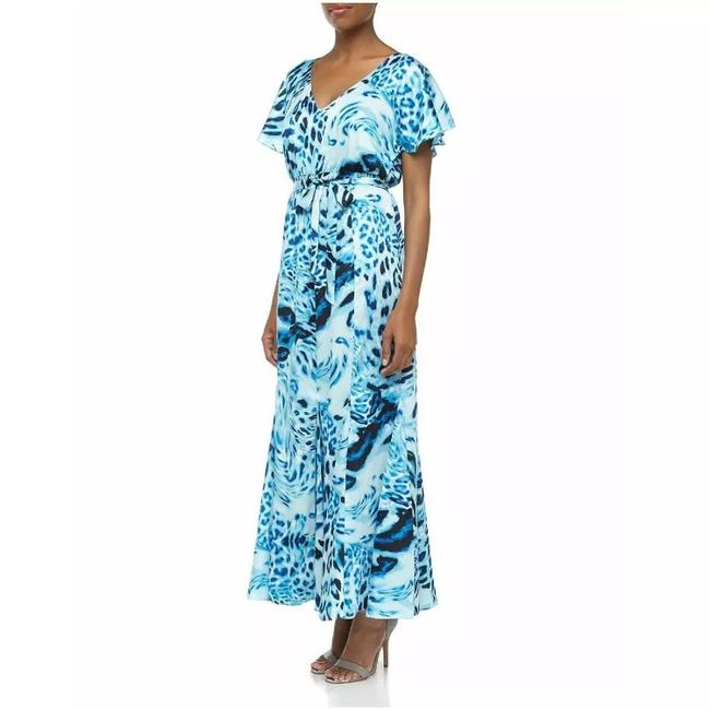 Blue Maxi Dress by Laundry by Shelli Segal Image 1