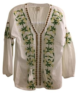 Sundance Moroccan Embroidered Flowy Tunic