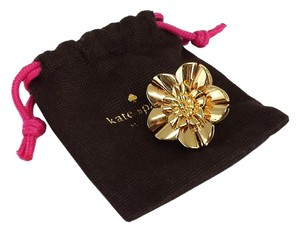 Kate Spade Gold-Tone Flower Statement Ring