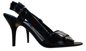 Banana Republic Sandal Heel Leather Dressy black Formal