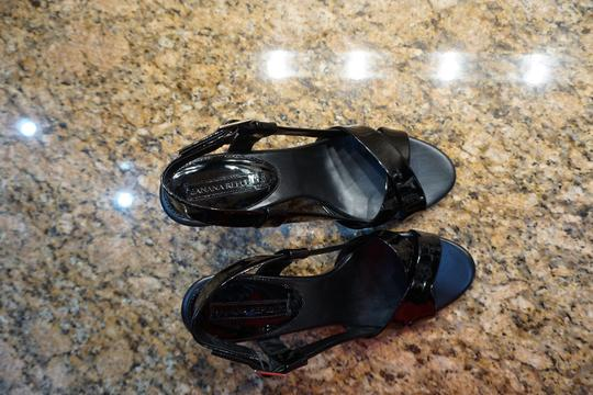 Banana Republic Sandal Heel Leather Dressy black Formal Image 1