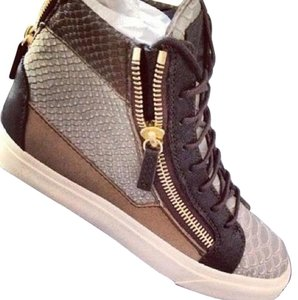 Giuseppe Zanotti Green, beige, brown Athletic