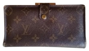 Louis Vuitton Louis Vuitton Long French Purse Wallet in Monogram Brown