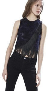 Rebecca Minkoff Top Navy and Black