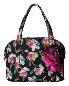 Betsey Johnson Travel Weekender black paisley Travel Bag