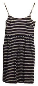 J.Crew short dress Blue white on Tradesy