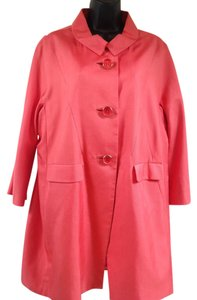 Carlisle 3 Button Peter Pan Collar Pink Jacket