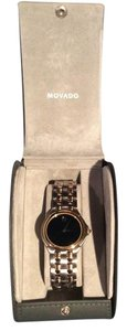 Movado Movado Mens Two Tone Gold & Silver Watch