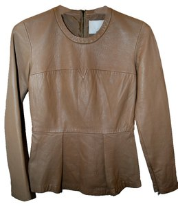 3.1 Phillip Lim Leather Biker Jacket Trendy Tunic