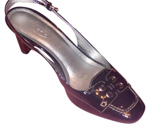 Talbots Dressy Or Casual navy patent leather Pumps