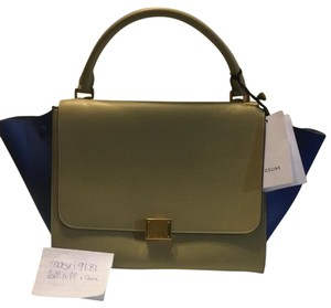 Céline Tote in Beige And Blue