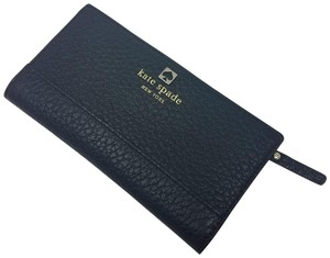 Kate Spade Black Kate Spade New York Stacy Leather Wallet