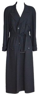 Chanel 97a Trench Wool Coat