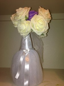 18 Bride Centerpieces With Flowers Included