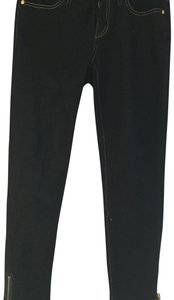 Tory Burch Capri/Cropped Denim-Dark Rinse
