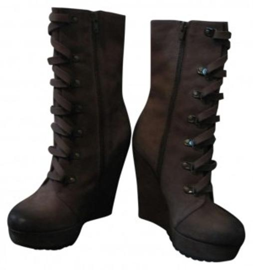 Preload https://item1.tradesy.com/images/kelsi-dagger-tanbrown-vintage-lace-up-wedges-bootsbooties-size-us-7-185230-0-0.jpg?width=440&height=440