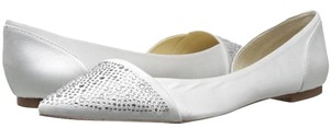 Betsey Johnson Wedding Sparkle Ivory Flats