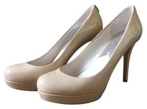 Michael Kors Stiletto Patent Leather Nude Pumps