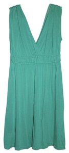 Ann Taylor LOFT short dress Green on Tradesy