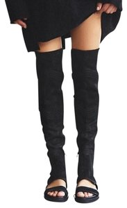 Free People 'tall Sold' Black Boots