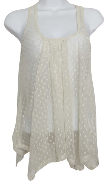 Item - Heart Lace Sheer Blouse Size 8 (M)