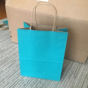 198 Turquoise Paper Welcome Bags