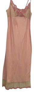 Salmon with beige Maxi Dress by dosa