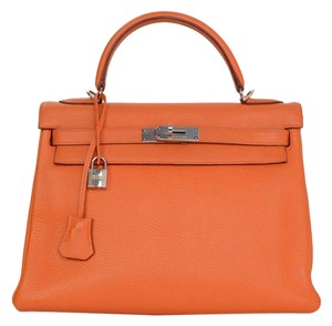 Hermès Kelly Leather Shoulder Satchel