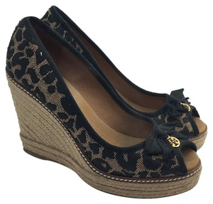 Tory Burch Print Wedges