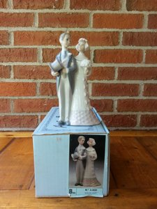 Lladro # 4808 Bride And Groom