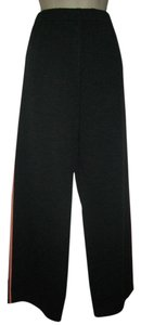 St. John Studded Wide Leg Pants Dark Gray or Heather Gray