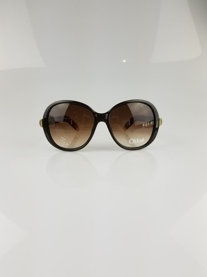 Chloé Light Brown Oversized Butterfly Sunglasses Image 0