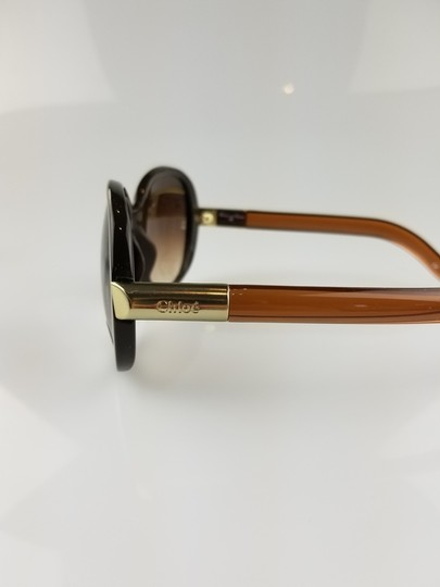 Chloé Light Brown Oversized Butterfly Sunglasses Image 1
