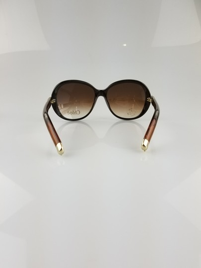 Chloé Light Brown Oversized Butterfly Sunglasses Image 2