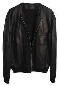 Givenchy Lambskin Leather Bomber Saint Laurent Raccagni Leather Jacket