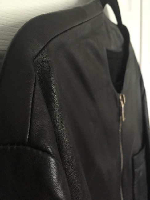 Givenchy Lambskin Bomber Saint Laurent Gucci Leather Jacket Image 2
